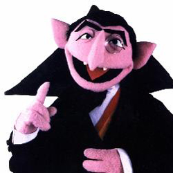 Count Von Count, Vampiric Lord of Numbers